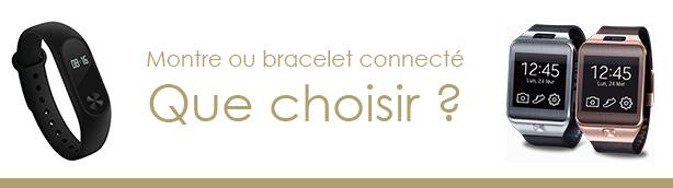 montre ou bracelet connecté